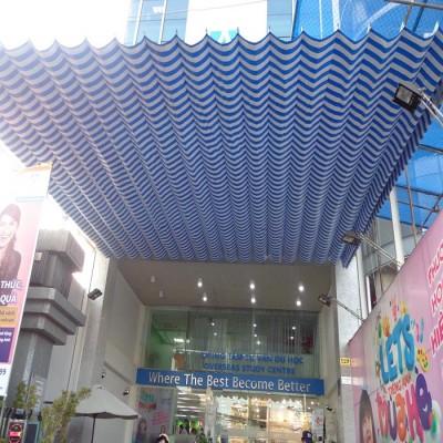 Mái xếp nhà hàng PT040